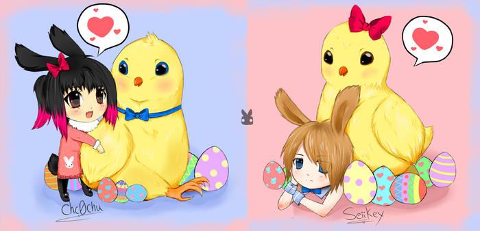Easter by Choc0Chu