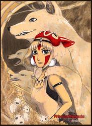 Princess Mononoke by Choc0Chu