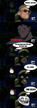 Young Justice Trolling by amyanime
