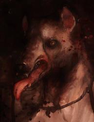 A lone Wolf by tujram