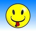 Tongue Smiley by Guilhem-Bedos