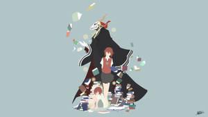 Chise and Elias (Mahou Tsukai no Yome) Minimalist by NurAlifSidoel