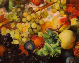 Master Study of Jan van Huysum by degarnemai