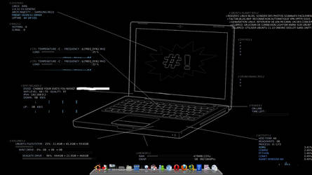 Conky_Fullscreen_dock_no_panel by 4our-Foxtrot