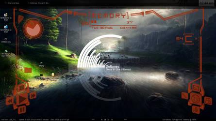 Litestep_Rainmeter_Samurize by 4our-Foxtrot