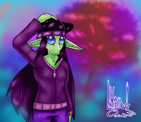 DYA the Rodian by MarylandsDrawing2525