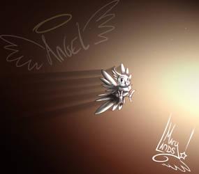 Angel the Cockatiel by MarylandsDrawing2525