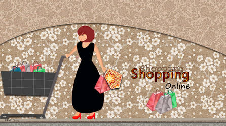 Shopping online by Passion-S