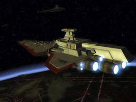 Valiant-class Republic Cruiser by Vince-T