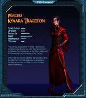 Charbase: Kyaara Trageton by Vince-T