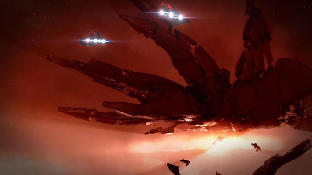 Universes colliding: Derelict by Vince-T