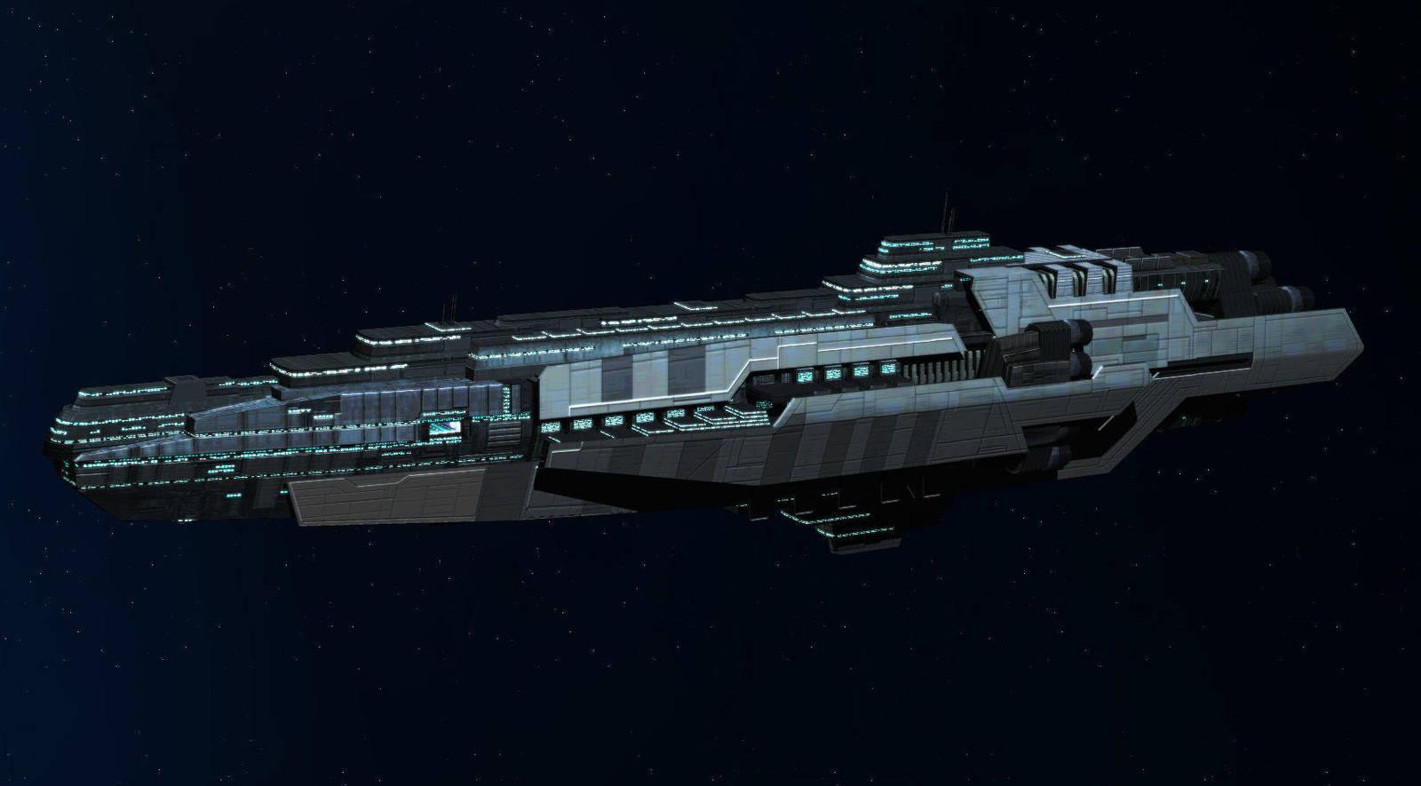 WIP: Archangel-class Dreadnought by Vince-T