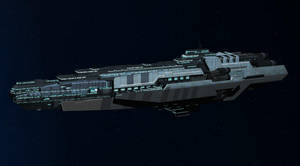 WIP: Archangel-class Dreadnought by Vince-T