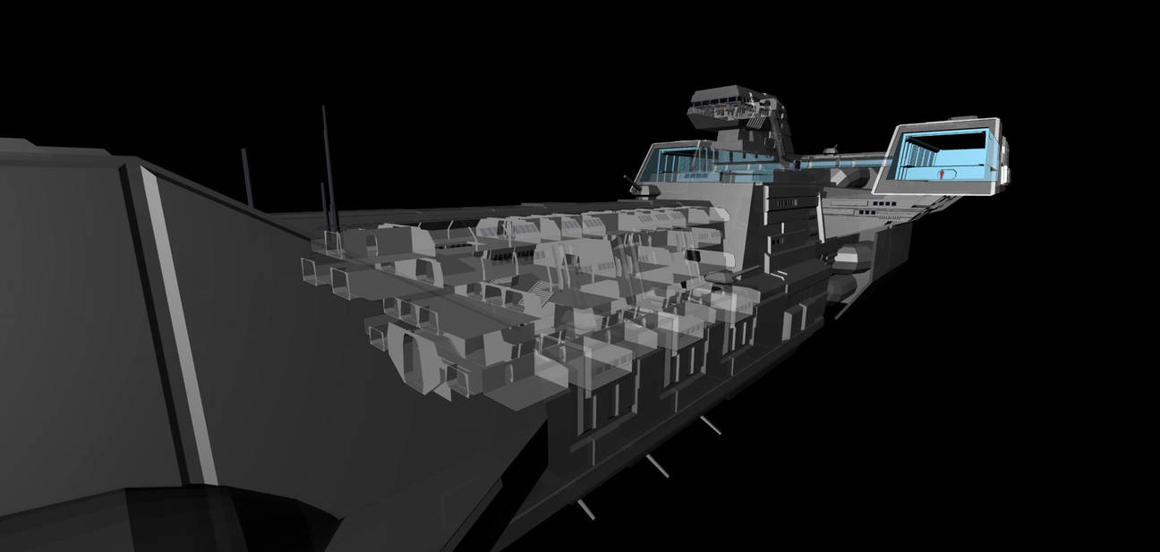 WIP: Patriot Frigate Mk2 - Interior by Vince-T