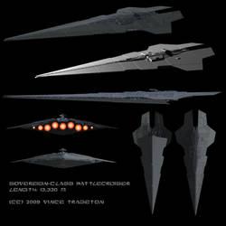 Starship Profile: Sovereign Battlecruiser by Vince-T