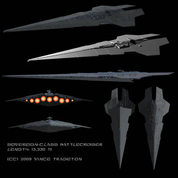 Starship Profile: Sovereign Battlecruiser by Vince-T