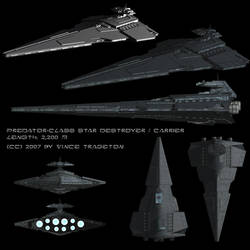 Starship Profile: Predator-class Star Destroyer by Vince-T