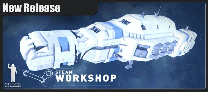 Principal-class Freighter @ Space Engineers by Vince-T