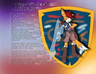 SpellBlades Call-Zane Berin by RustyDaPup