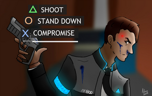 Choices [Connor DBH] by BackFromHell666