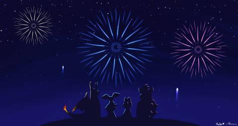 Happy New Year 2019! by pheonix548