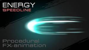 Procedural Energy Speedlines Tutorial by RT-FX