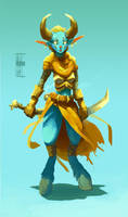 Female character design by sirallon