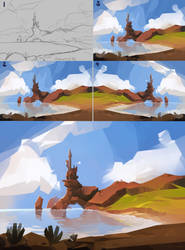 sketch - 61 tutorial by sirallon