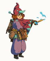 sorceress by sirallon