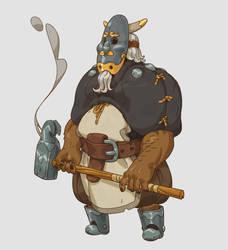 Earl the blacksmith by sirallon