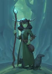 druid (youtube) by sirallon