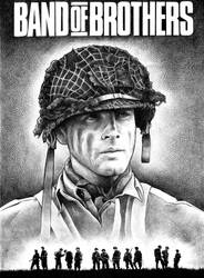 Lt Ronald Speirs - last stage by psonha