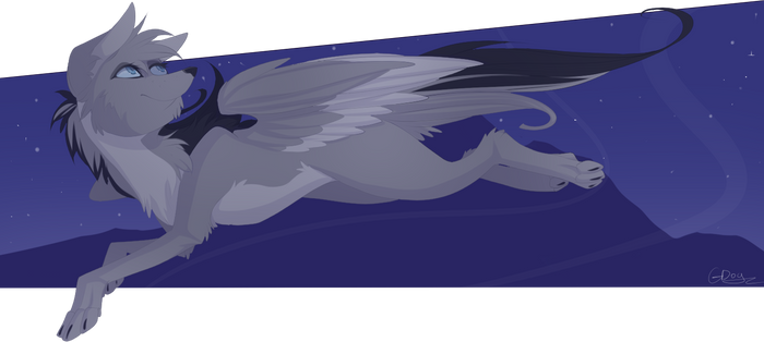 Gray Wolf by mrGDog