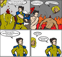 X-Men: Wolverine takes care of business by magickmaker