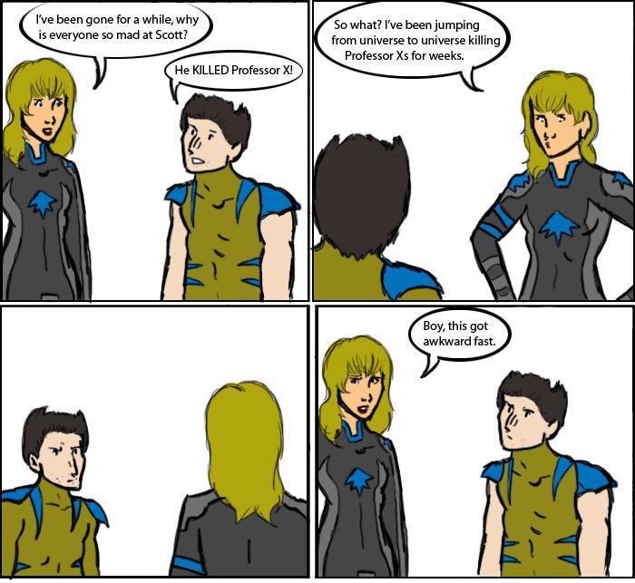 X-Men: The Ex Professor by magickmaker