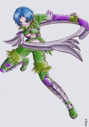 Soul Calibur 3: Tira by yaten-no-kittygirl