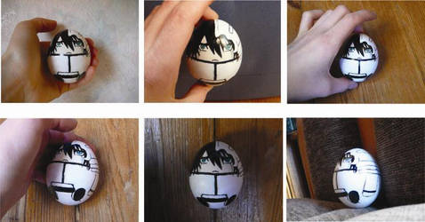 Ulquiorra egg XDDD by yaten-no-kittygirl