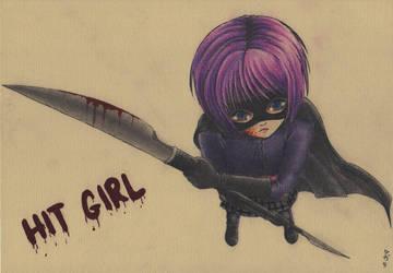 Hit Girl by yaten-no-kittygirl