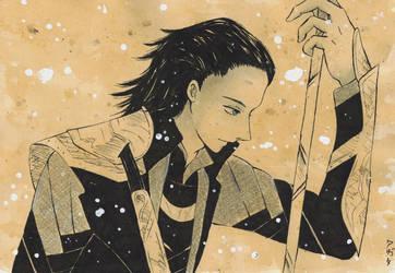 Loki-bishounen style ^.^ by yaten-no-kittygirl