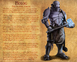Dungeons and Dragons: Molog by Hellwolve