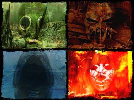 The Four Horsemen by Hellwolve