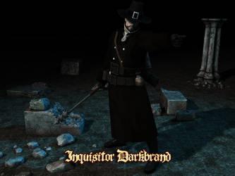 Pathfinder - Inquisitor Darkbrand by Hellwolve