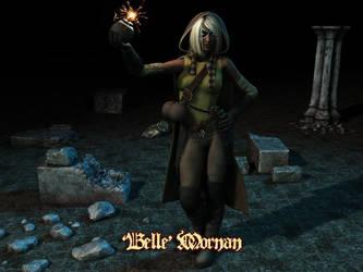 Pathfinder - 'Belle' Mornan by Hellwolve
