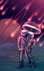 The Meteorite Shower by RYE-BREAD