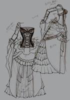Fantasy Wedding Dress OMG by Scyhnlledwyrh