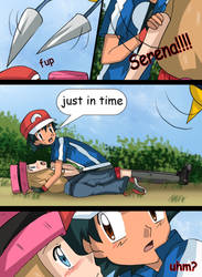 Love poison Amourshipping doujin 14 by hikariangelove