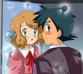 amourshipping blush by hikariangelove