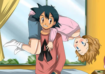 amourshipping grab by hikariangelove