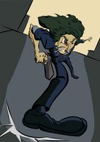 Spike Spiegel by wadedraws