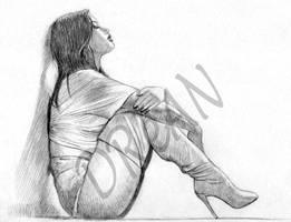 Solitude by Dreanpinup